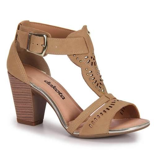 Sandalia Dakota Salto Medio - FZ2224